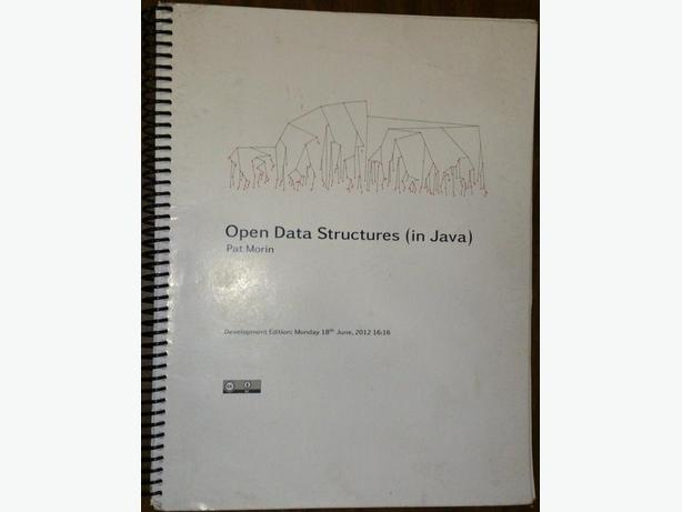 Open Data Structure (In Java) (Comp 2402) course pack