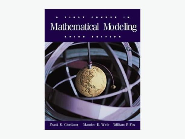 A First Course in Mathematical Modeling – 3rd Edition