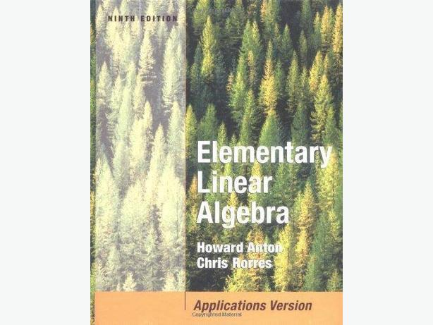 Elementary Linear Algebra with Applications – 9th Edition