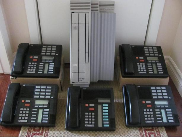 Nortel Norstar Meridian 5 Telephone System