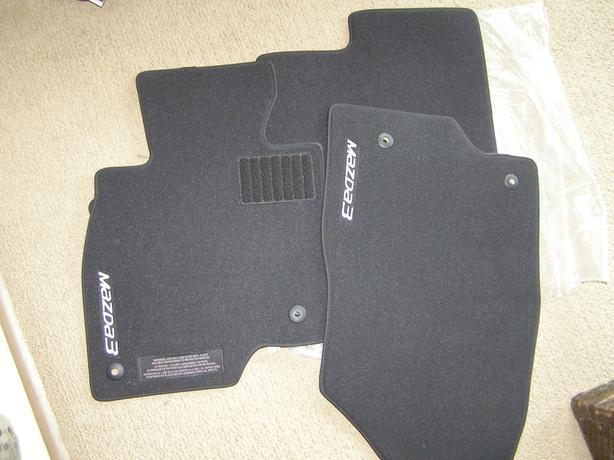 Mazda 3 cloth floor mats for sale