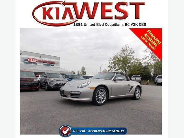 2011 Porsche Boxster Convertible
