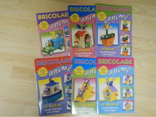 Scholastic - 11 livres de Bricolage animé