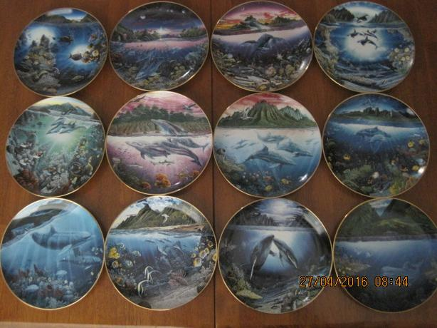 Underwater Paradise plates by Robert Lynn Nelson