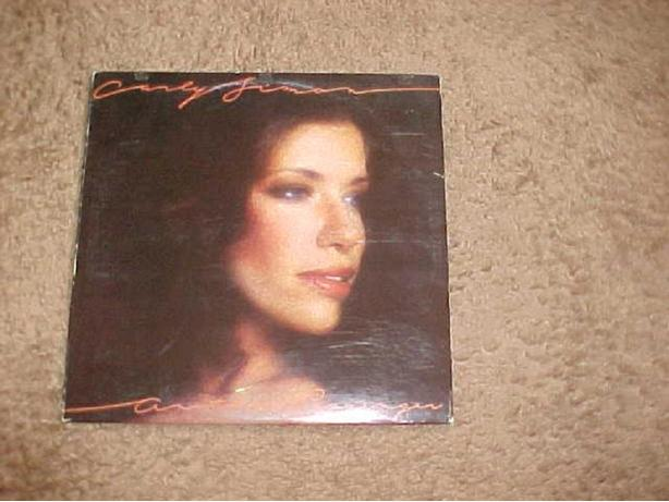 CARLY SIMON ANOTHER PASSENGER VINYL LP