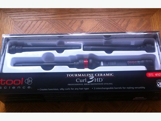 New Professional Tool Science 3HD curling iron