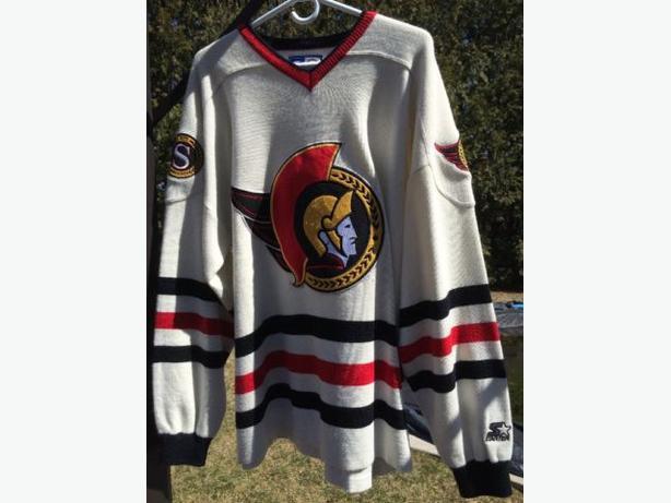 Rare Wool & Felt original Ottawa Senators jersey from the 90's