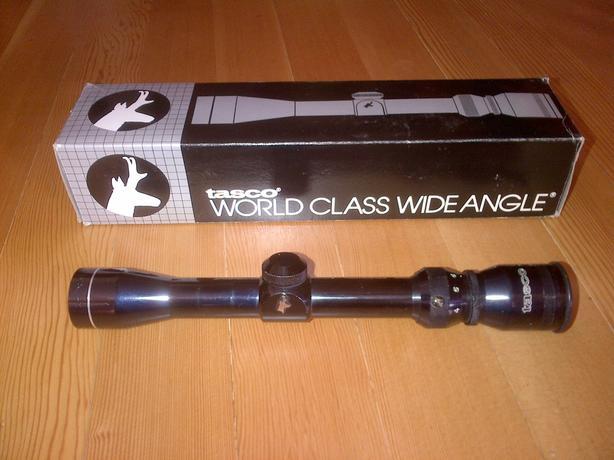 Tasco World Class 2-7x32 scope