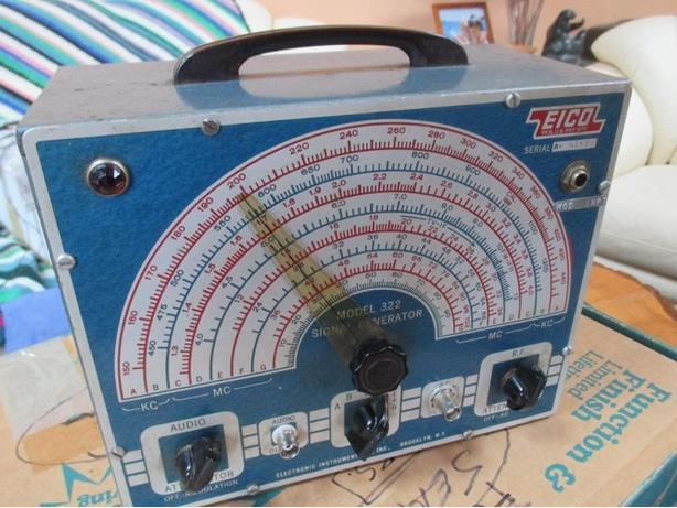 Eico Signal generator Model 322. Price reduced again.