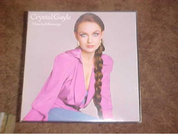 CRYSTAL GAYLE MISS THE MISSISSIPPI VINYL LP