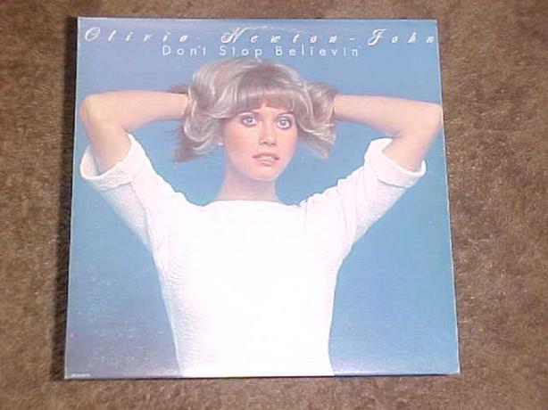 OLIVIA NEWTON-JOHN DON'T STOP BELIEVIN' VINYL LP
