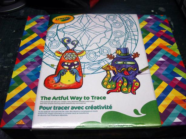 Brand New Crayola Tracing Set - $15