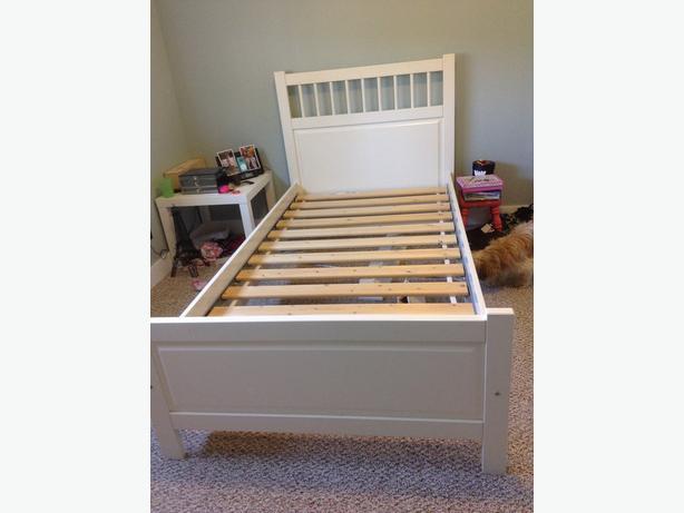 Ikea Hemnes Bed, Twin, White Esquimalt& View Royal, Victoria