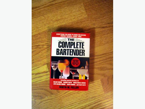 Like New Complete Bartender Book - $5