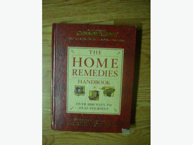 Like New Home Remedies Book - $8