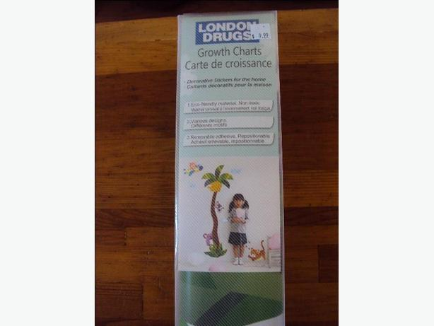 Brand New Growth Chart Palm Tree And Jungle Animals Sooke Victoria