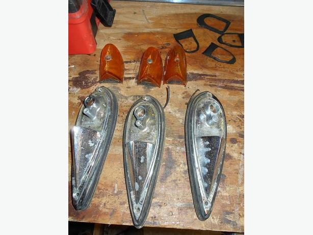 Original vinatge old truck top cab  lights