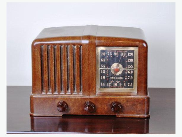 Working RCA Victor 46X21 Antique Radio 1939-1940