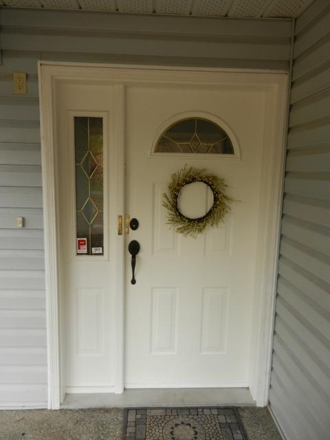 Exterior metal doors and interior french doors outside for Used exterior french doors