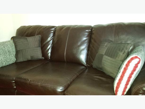 Pure Leather Sofa Nepean Ottawa Mobile