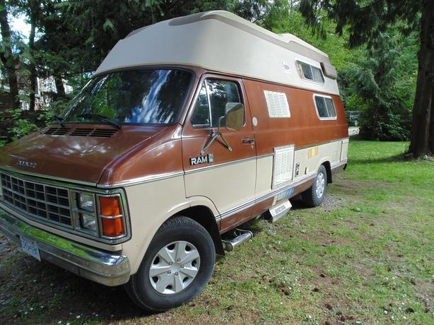 1983 Dodge XTC Camper Van