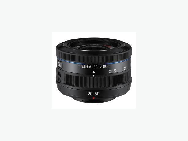 Samsung 20-50mm f/3.5-5.6 ED II NX Lens