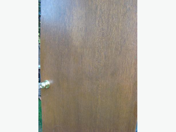 Mahogany Hollow Core Interior Doors