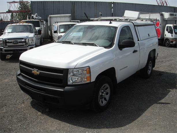 2011 Chevrolet Silverado 1500 Regular Cab Standard Box 2WD Canopy with Roof Rack