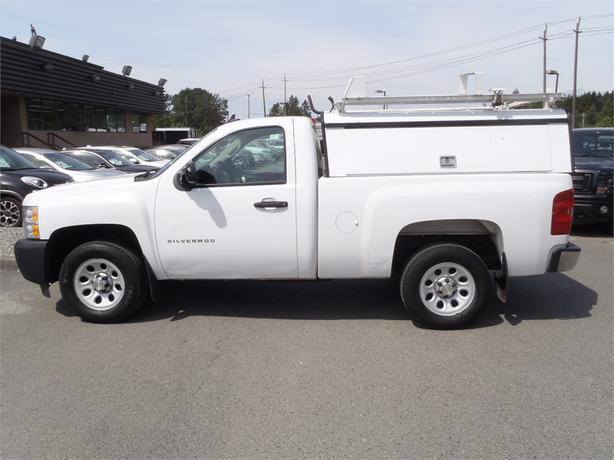 2011 chevrolet silverado 1500 work truck regular cab short box with canopy 2wd outside calgary. Black Bedroom Furniture Sets. Home Design Ideas