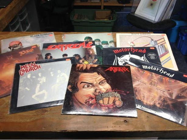 Looking for Records! Rock N Roll, Blues, Metal & More!