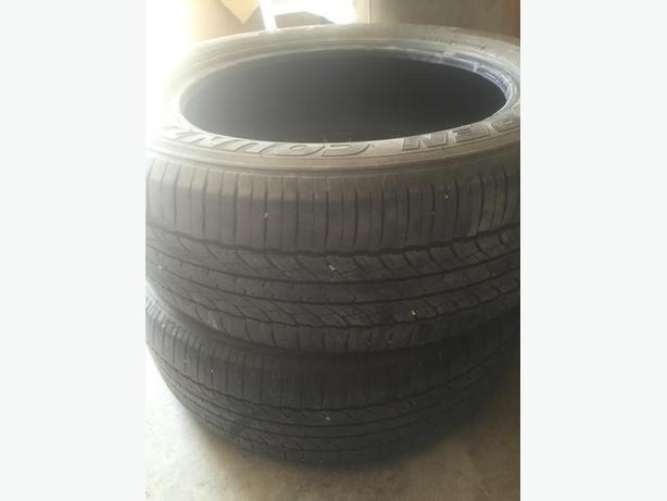 Mint Condition set of 2 Tires Open Country Toyo A20 245/55/19