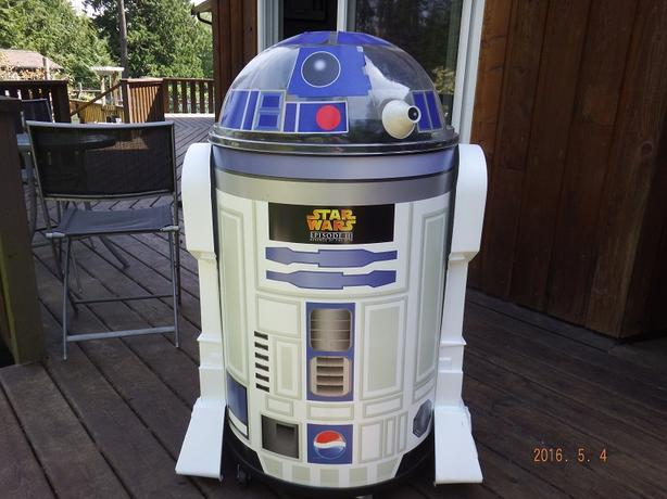 R2-D2 Large Pepsi Cooler Star Wars Episode III Revenge of the Sith