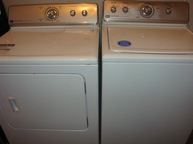 Maytag Commercial Quality Super Capacity Washer And Dryer