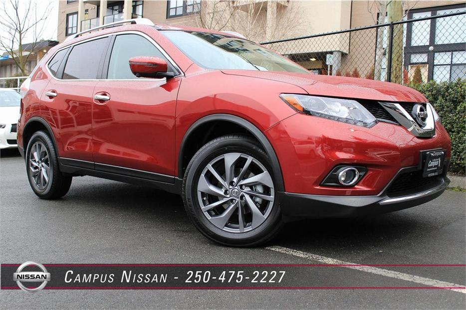 2016 Nissan Rogue Sl Premium Tech Victoria City Victoria