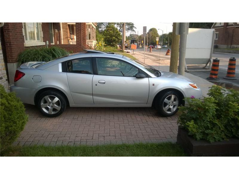 2007 saturn ion 3 quad coupe uplevel central ottawa. Black Bedroom Furniture Sets. Home Design Ideas