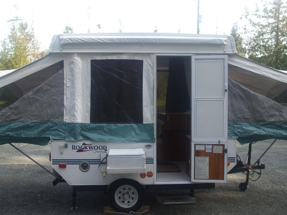2001 Rockwood Tent Trailer Parksville Nanaimo Mobile