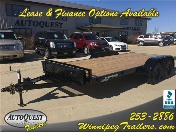 2017 Southland 16ft Tandem Axle Car Hauler with Ramps - 7000k