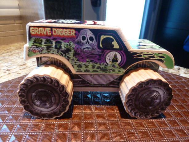 Wooden Grave Digger Strottman Monster Truck