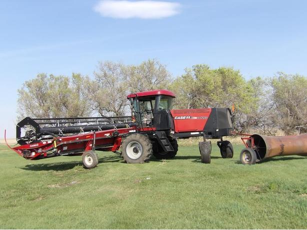 2010 Case Swather WD 1203 - 36ft.