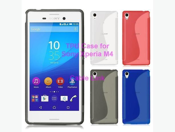 Soft TPU Case S-Line for Sony Xperia M4 Aqua