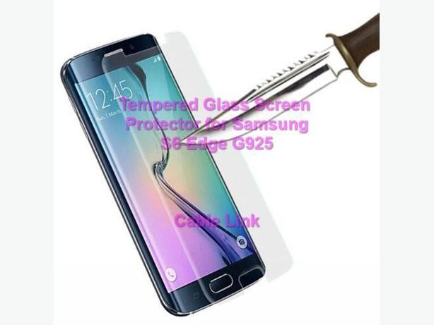 Premium Tempered Glass Screen Protector for Samsung S6 Edge