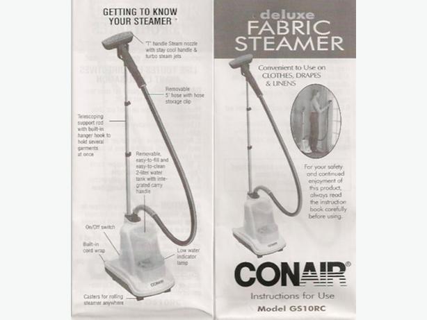 fabric steamer by conair central nanaimo  parksville qualicum beach Conair Cordless Phone conair telephone manual