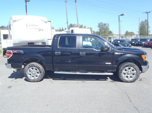 2013 ford f 150 xlt supercrew 5 5 ft bed 4wd with ecoboost outside comox valley comox valley. Black Bedroom Furniture Sets. Home Design Ideas