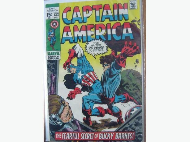 Marvel - Captain America #132