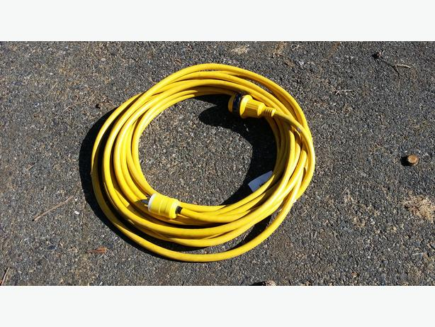 1 - 50 foot, 30 amp marine shore power cable
