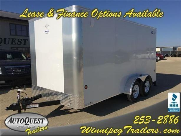 2017 Southland Royal Cargo LT 7 X 14 Cargo Trailer with barn door - 7000k