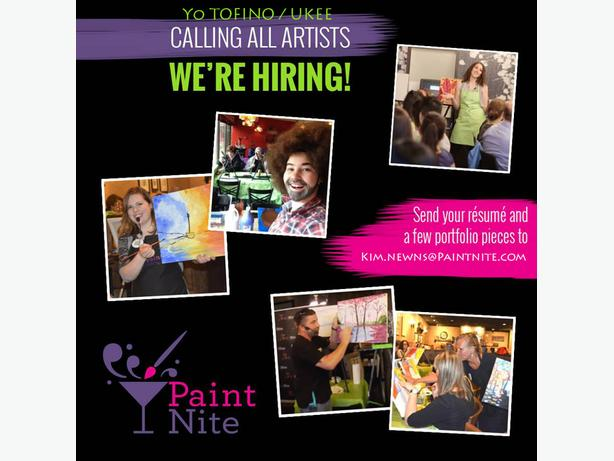 Paint Nite Artist / Entertainer!