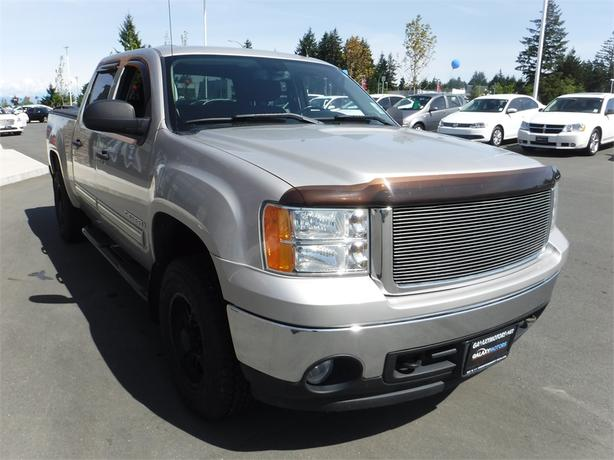 2008 gmc sierra 1500 sl nevada edition crew 5 3l v8 short box courtenay courtenay comox mobile. Black Bedroom Furniture Sets. Home Design Ideas