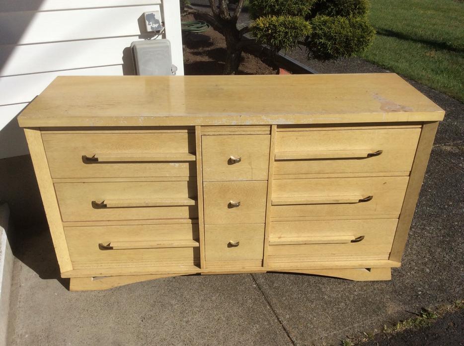 Wooden 9 Drawer Dresser By La Period Furniture Central