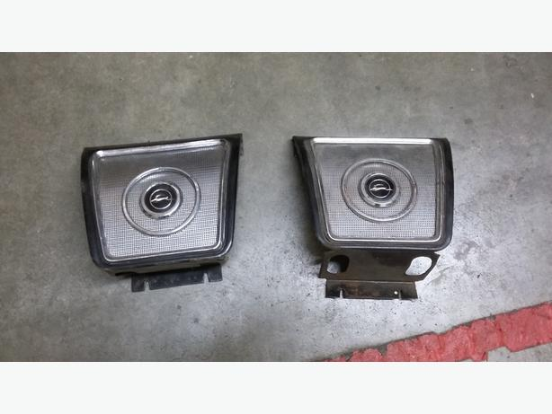1962-64 Chevy Impala Rear Seat Speakers Gullies- Good Shape (100 bucks obo)